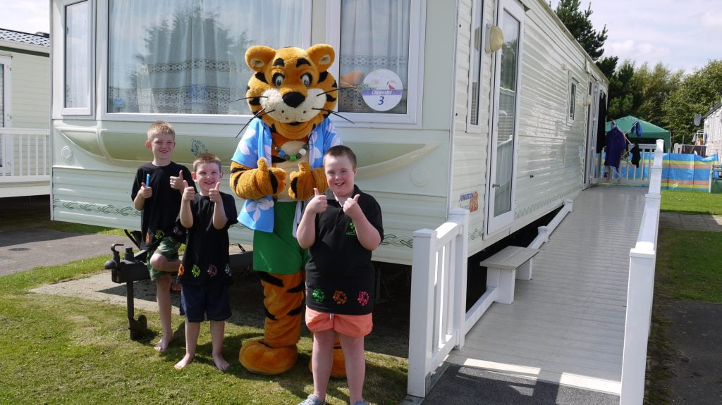 Kids in Action - caravan holidays for special needs children